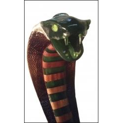 Amazońska kobra - rzeźba kod:cobra